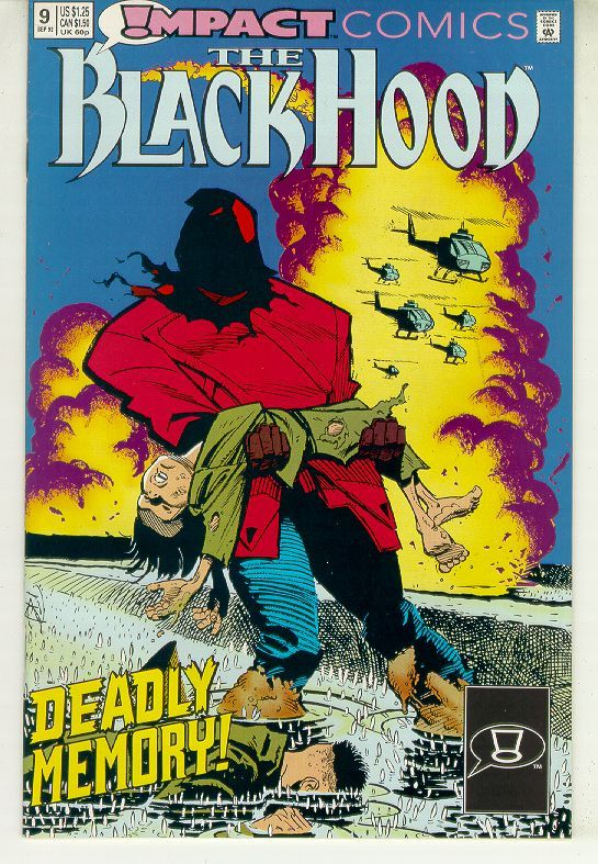 BLACK HOOD #9 (Impact Comics, 1991 Series) NM!
