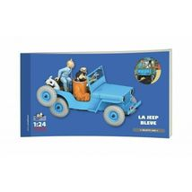 The Jeep Willys 1/24 model car Voiture Tintin 2019 Destination Moon image 3