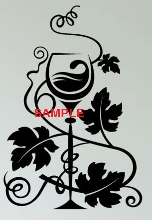 Wine   ivy leaves sample