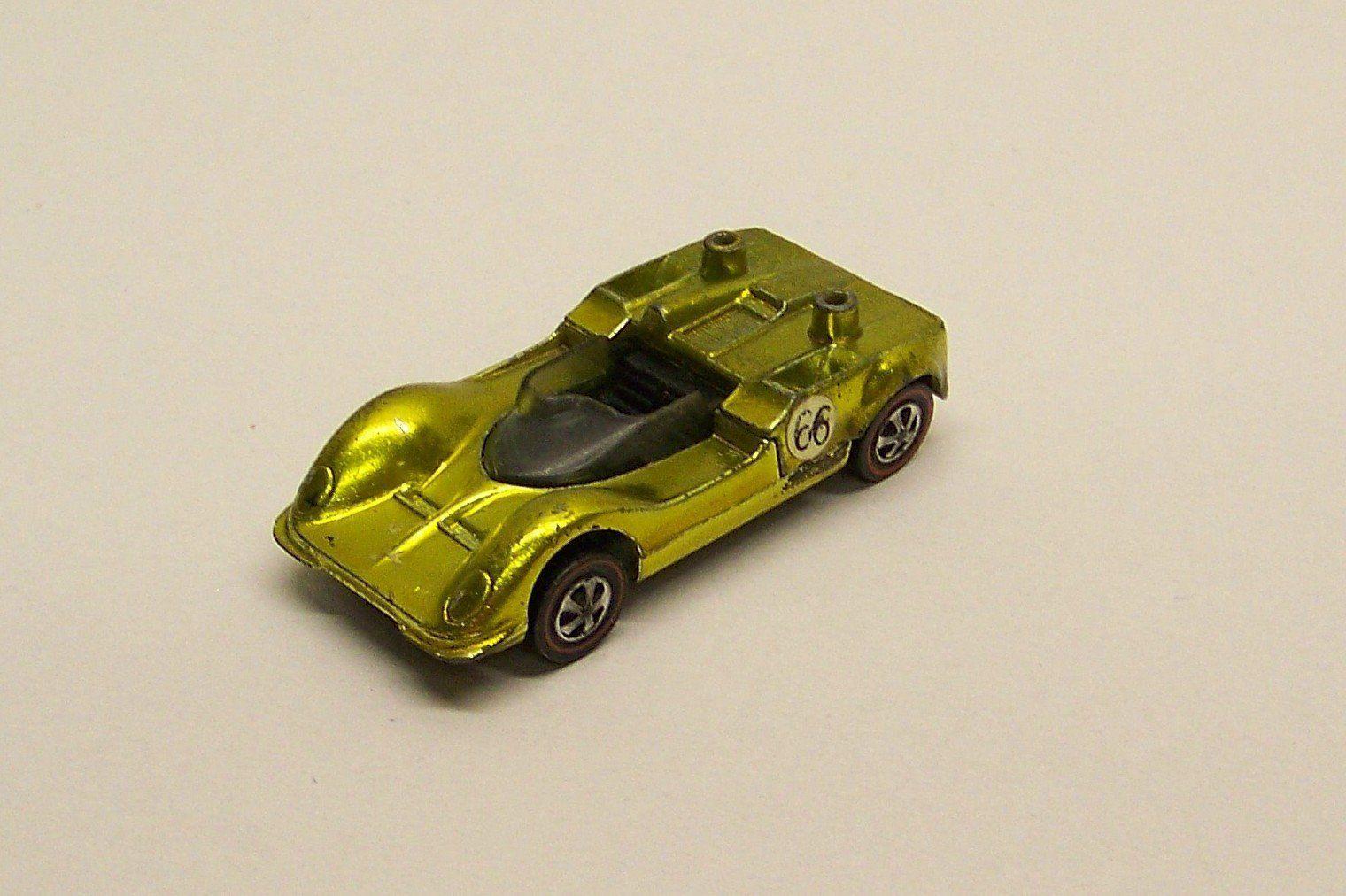 Hotwheels Redline gold/yellow Chaparral
