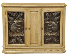 Gorgeous Clementine Wood/Iron Wine Cabinet - $1,749.00
