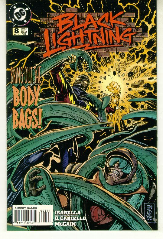BLACK LIGHTNING #8 (DC Comics, 1995 Series) NM!