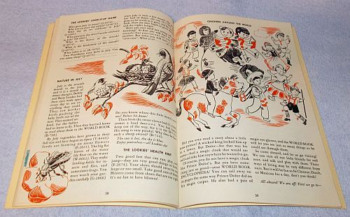 The Lookies Activity World Book Encycopedia Look It Up Club 1954