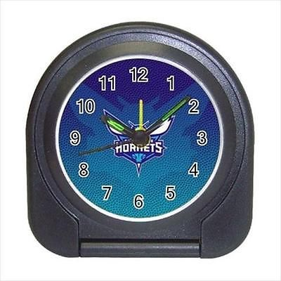 Charlotte Hornets Compact Travel Alarm Clock (Battery Included) - MLB Baseball