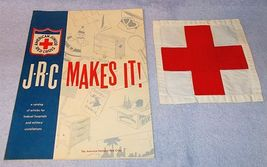 American Junior Red Cross Makes It Activities And Red Cross Patch - $14.95