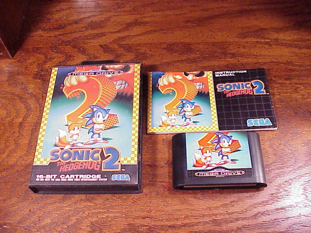 Sega sonic 2 mega  1