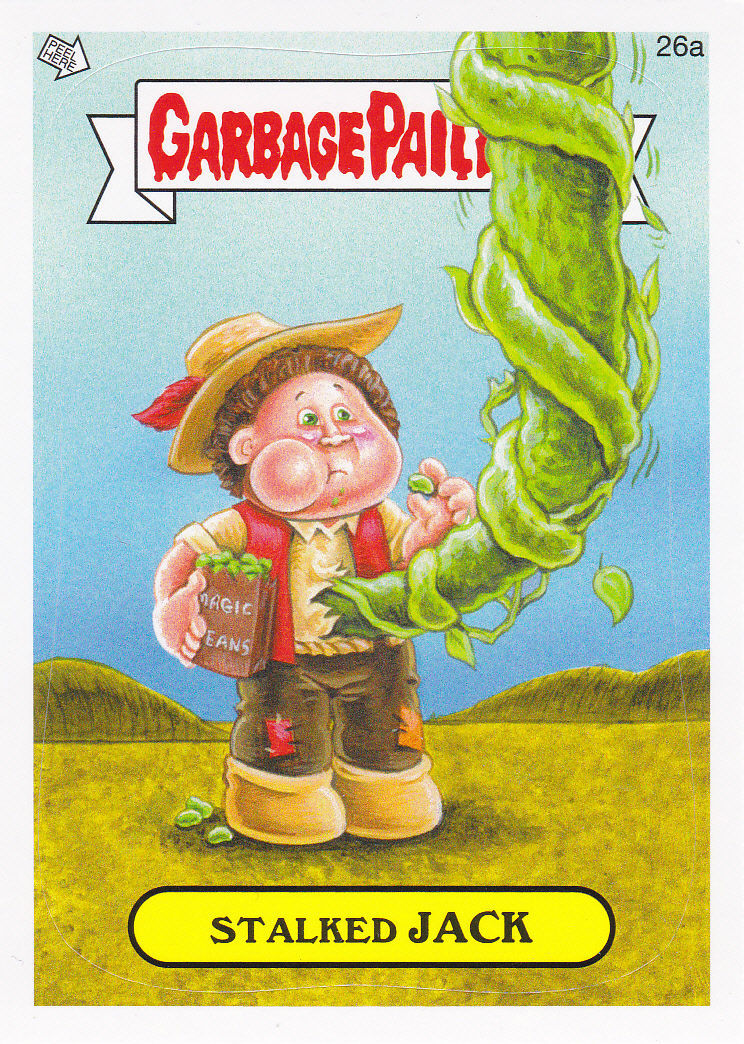 """2014 GARBAGE PAIL KIDS 1ST SERIES """"STALKED JACK"""" CARD #26a ONLY 99 CENTS!"""
