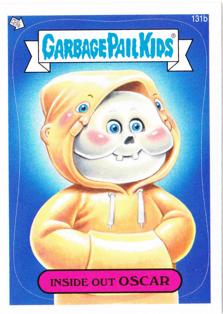 "2013 GARBAGE PAIL KIDS Brand New Series3 ""INSIDE OUT OSCAR"" #131b ONLY 99 CENTS"