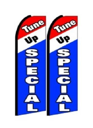 Tune up Special King Size Polyester Swooper Flag pk of 2