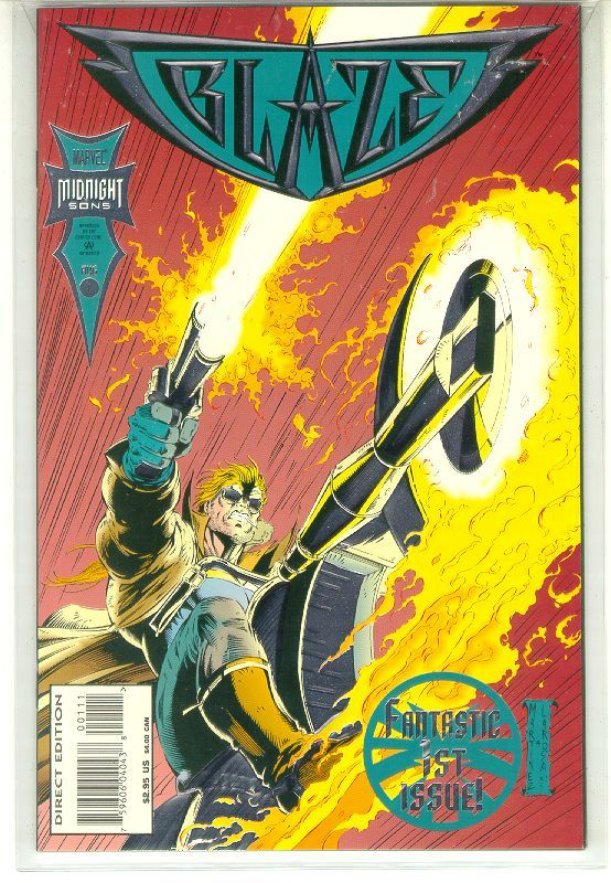 BLAZE #1 (Marvel Comics) NM! ~ GHOST RIDER