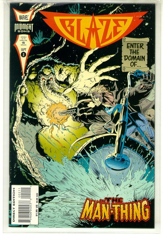 BLAZE #2 (Marvel Comics) NM! ~ GHOST RIDER