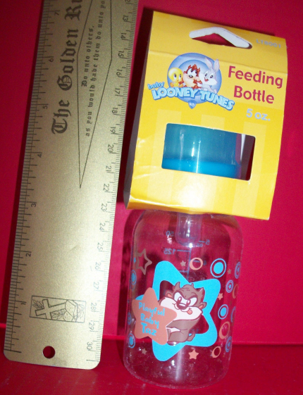 Looney Tunes Baby Gear 5 Oz Warner Brothers Tasmanian Devil Blue Feeding Bottle