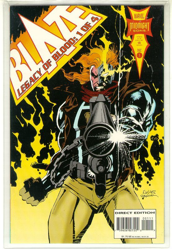 BLAZE: LEGACY OF BLOOD #1 (Marvel Comics) NM! ~ GHOST RIDER