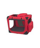 Pet Gear Generation II Deluxe Portable Soft Crate - Small/Red 961-PG5526RP - $119.82