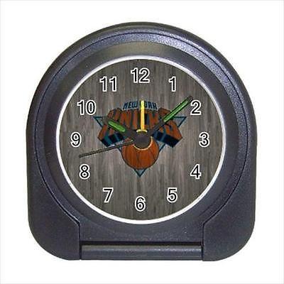 New York Knicks Compact Travel Alarm Clock (Battery Included) - NBA Basketball