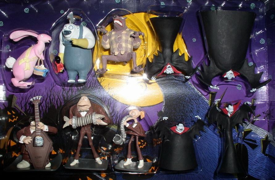 Nightmare Before Christmas Vampires  Band Leaders  Werewolf  NMBC 10 PVC Figures