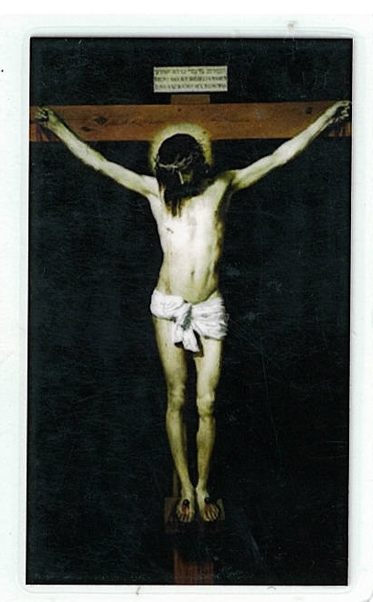 Primary image for Laminated Prayer Card - Justo Juez - L300.0029
