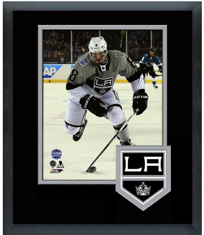 Drew Doughty Los Angeles Kings 2015 NHL Stadium Series-11x14 Matted/Framed Photo