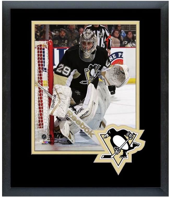 Marc-Andre Fleury 2014-15 Pittsburgh Penguins - 11 x 14 Matted/Framed Photo