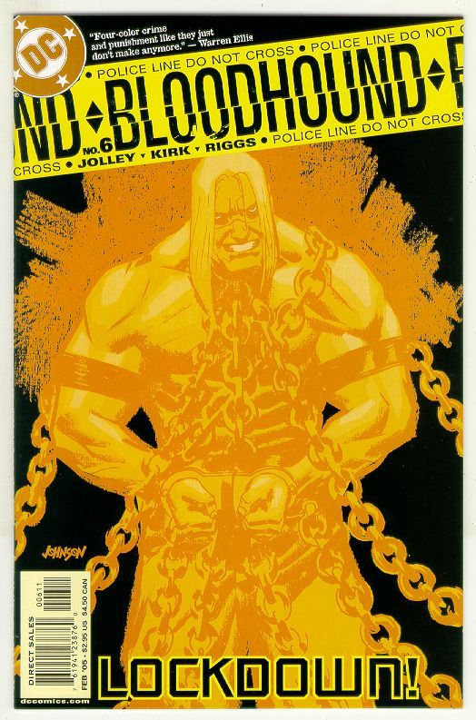 BLOODHOUND #6 (DC Comics) NM!