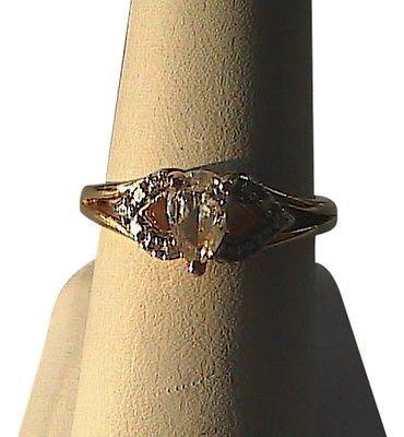 Sterling .925 Vermeil CZ Ring