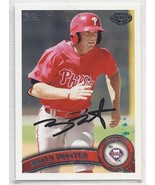 Brian Pointer Signed Autographed Card 2011 Topps Pro Debut - $9.50