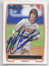 Adrian Marin Signed Autographed Card 2012 bowman Draft - $9.50