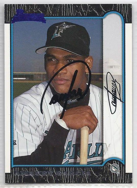 Amaury Garcia Signed Autographed Card 1999 Bowman