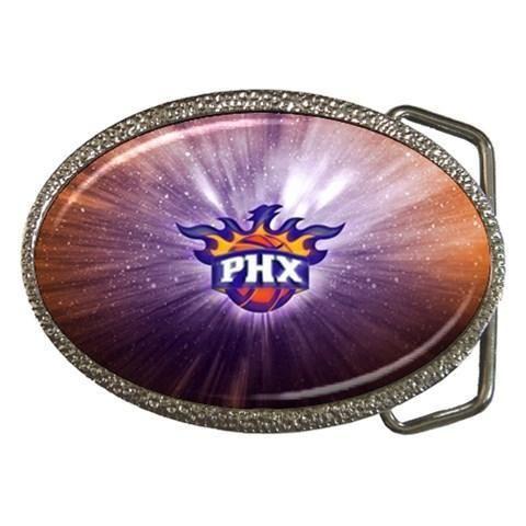 Phoenix Suns Chrome Belt Buckle - NBA Basketball