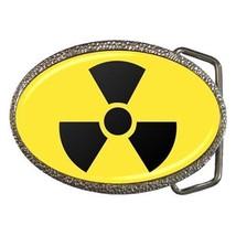 Atomic Radiation Chrome Finished Belt Buckle - Radiation Warning Symbol - $9.65