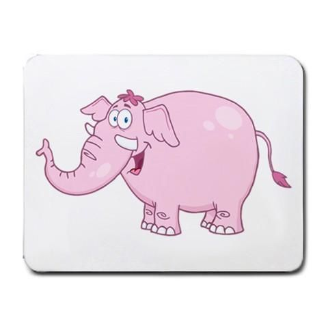 Pink Elephant Mousepad - Cartoon Series #7