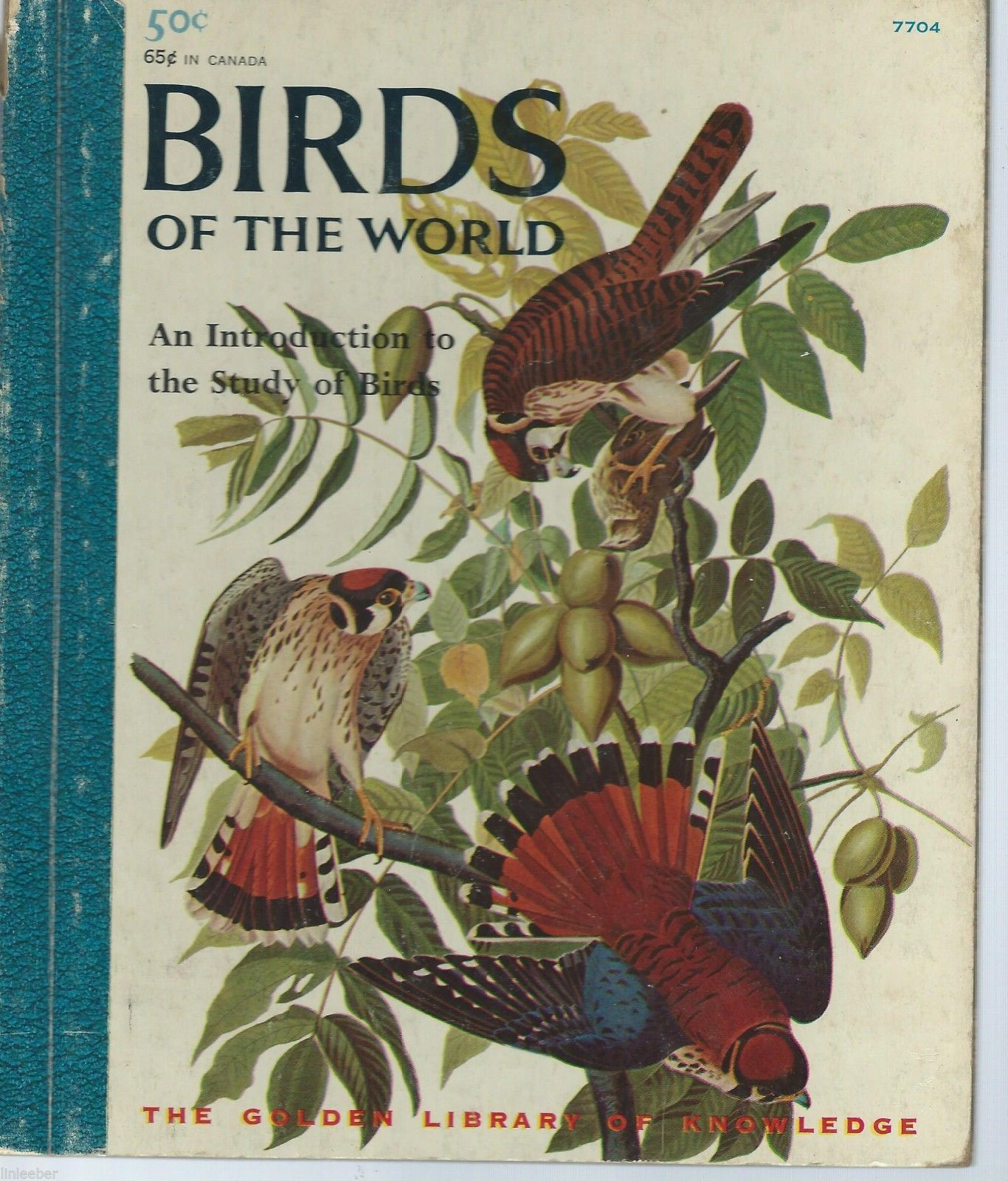 Birds Of The World:An Introduction To The Study Of Birds;Eunice Holsaert; #7704