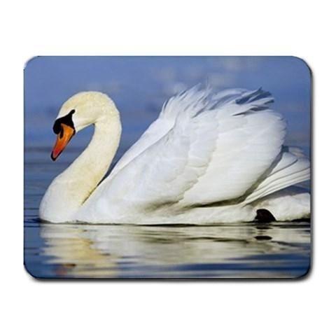 White Swan Mousepad