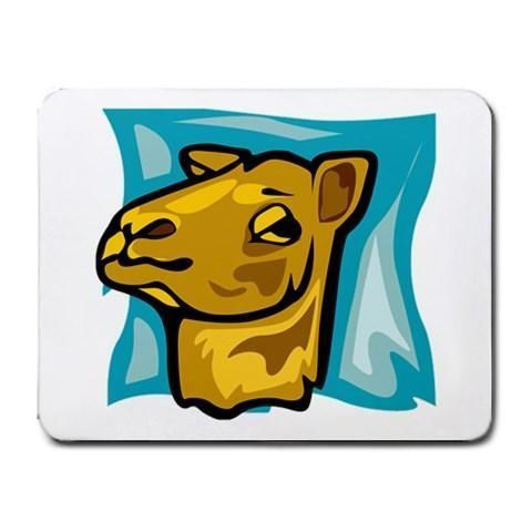 Camel Mousepad - Cartoon Art