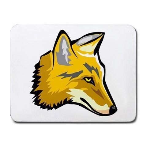 Coyote Head Mousepad - Cartoon Art