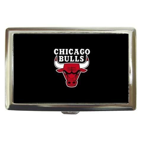 Chicago Bulls Cigarette, Money, Card Holder Case - NBA Basketball
