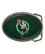 Boston Celtics Chrome Belt Buckle - NBA Basketball - $9.65