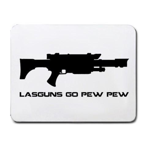Warhammer 40k Lasgun Mousepad