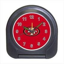 San Franciso 49ers Compact Travel Alarm Clock - NFL Football (Battery Included) - $9.95