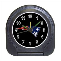 New England Patriots Compact Travel Alarm Clock - Footbal (Battery Included) - $9.95