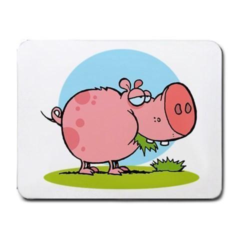 Dumb Piggy Mousepad - Cartoon Series #17