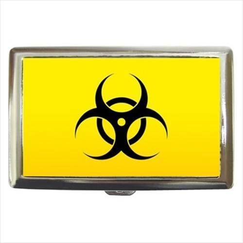 Biohazard Cigarette, Money, Card Holder Case -  Keep Out