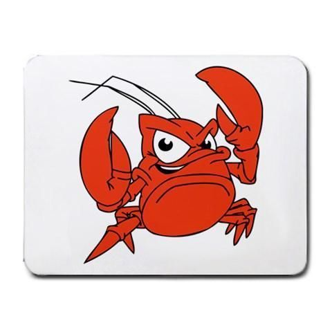 Fighting Crabby Mousepad - Cartoon Series #19