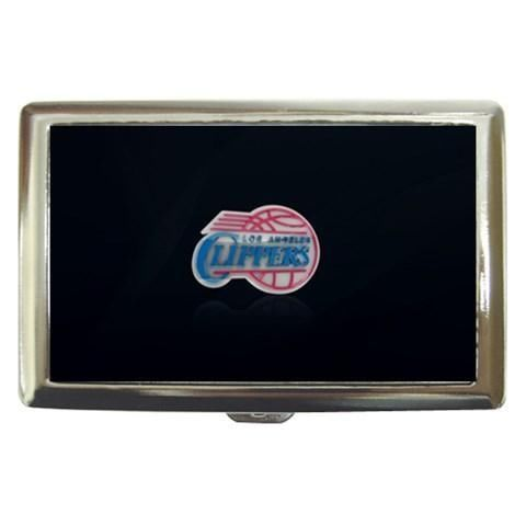 Los Angeles Clippers Cigarette, Money, Card Holder Case - NBA Basketball