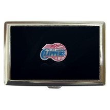 Los Angeles Clippers Cigarette, Money, Card Holder Case - NBA Basketball - $12.56