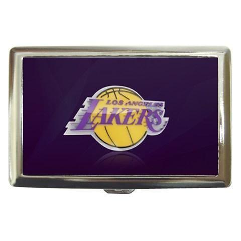 LA Lakers Cigarette, Money, Card Holder Case - NBA Basketball
