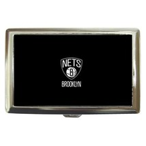 Brooklyn Nets Cigarette, Money, Card Holder Case - NBA Basketball - $12.56