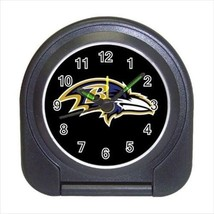 Baltimore Ravens Compact Travel Alarm Clock - NFL Football (Battery Included) - $9.95