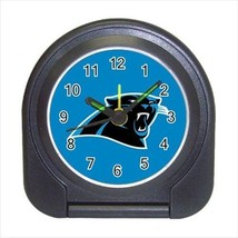 Carolina Panthers Compact Travel Alarm Clock - NFL Football (Battery Included) - $9.95