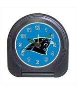 Carolina Panthers Compact Travel Alarm Clock - NFL Football (Battery Inc... - $9.95